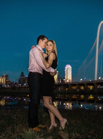 Kari + Buck Engagements in Downtown Dallas