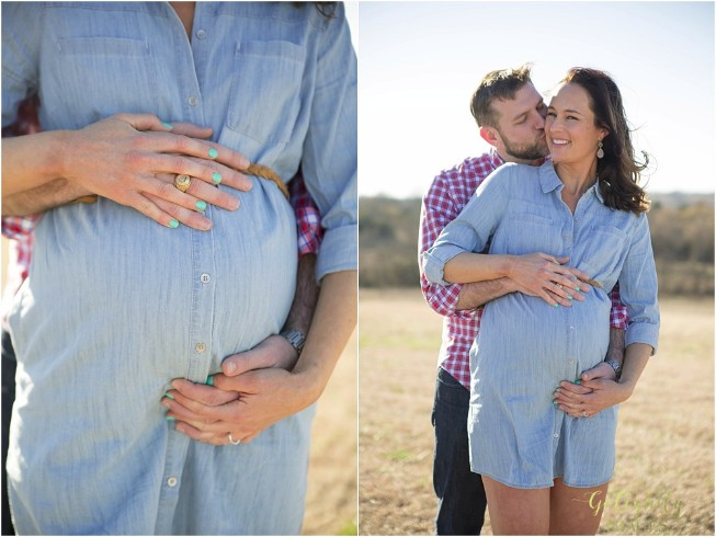 Maternity portraits by Dallas maternity photographer Golightly Images