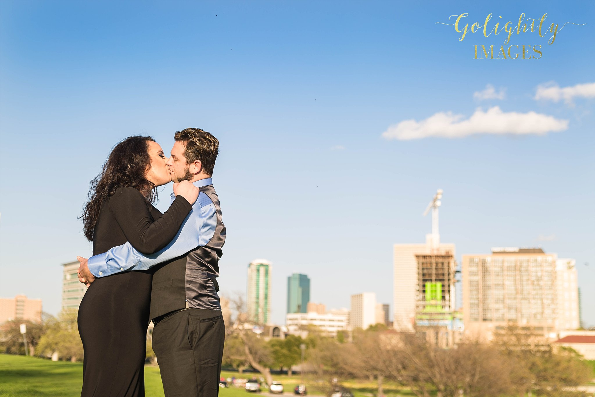 Engagements in Fort Worth by Golightly Images