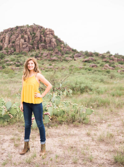 Skylar's West Texas Senior Portraits