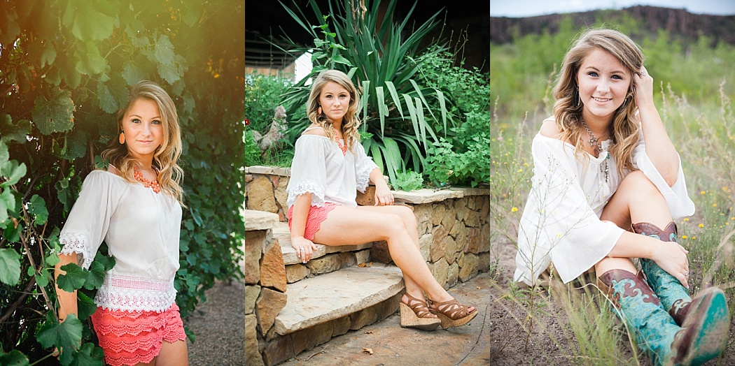 Destination senior portraits by Golightly Images
