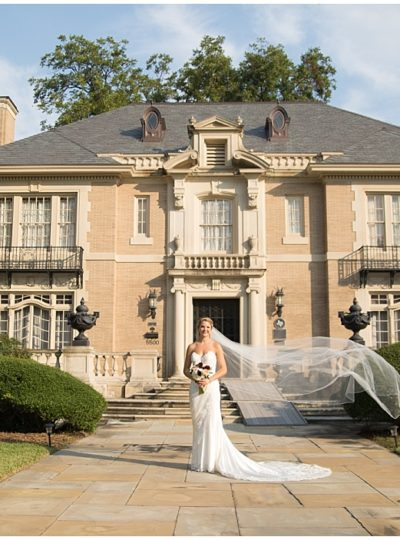 Bridal Portraits at The Aldridge House