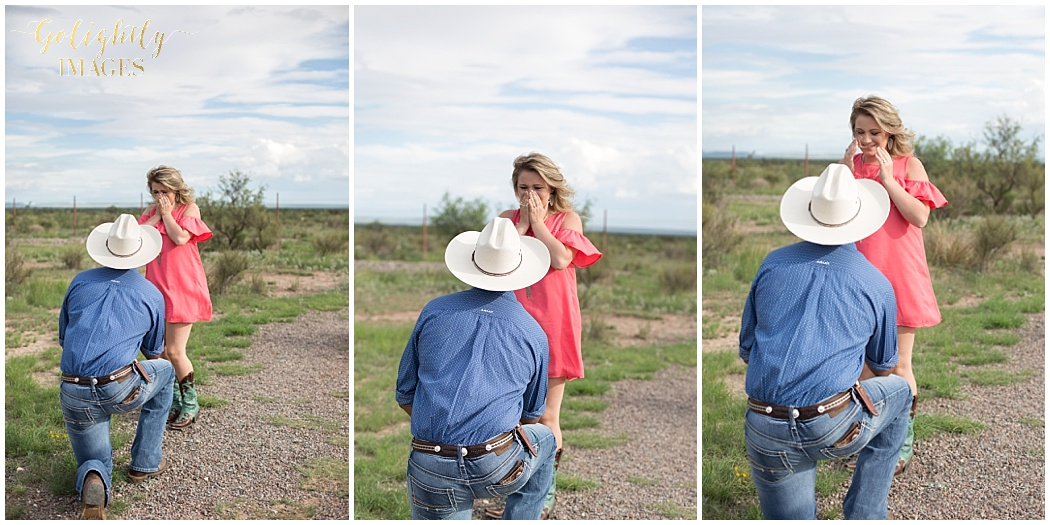 Engagement Portraits in Marfa, Tx