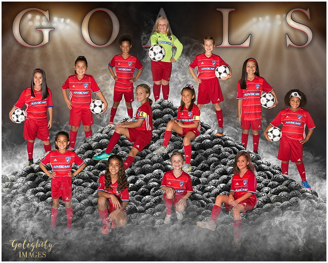 Team pictures and individual sportraits by Golightly Images