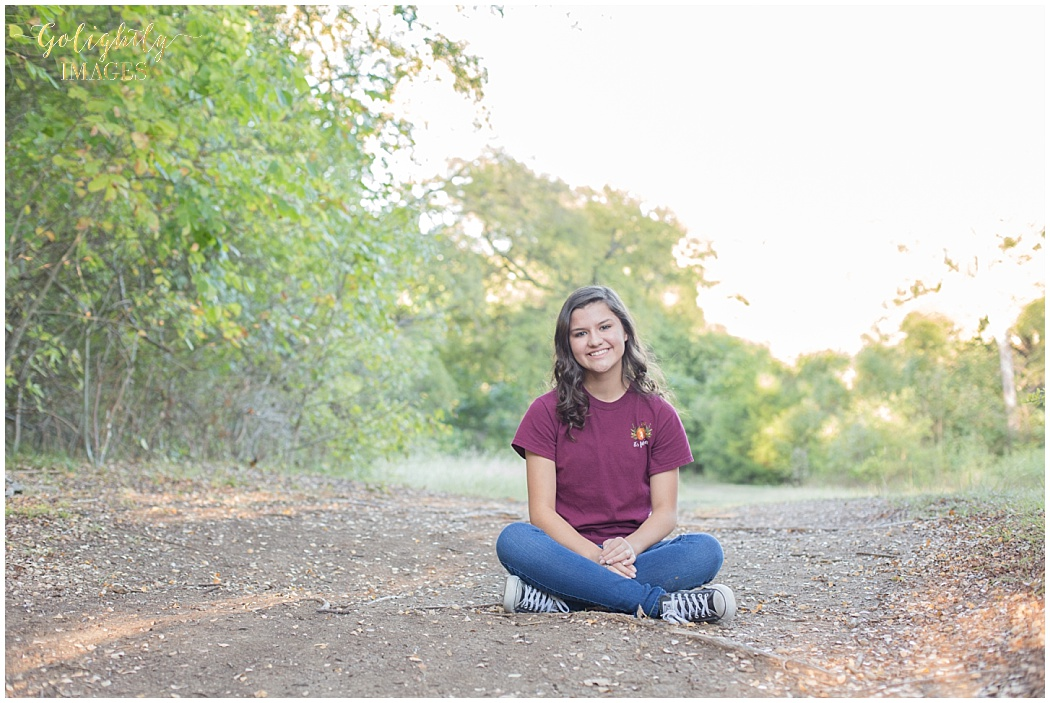 Senior portraits photographed by Golightly Images